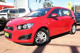2015 Holden Barina TM MY15 CD Red 5 Speed Manual Hatchback.