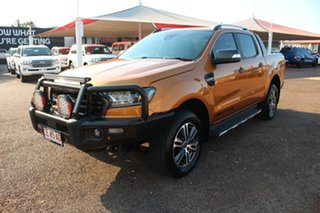 2020 Ford Ranger PX MkIII 2020.25MY Wildtrak Gold 10 Speed Sports Automatic Double Cab Pick Up.