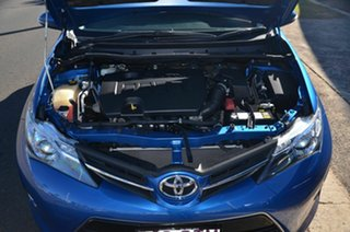 2013 Toyota Corolla ZRE182R Ascent Sport Blue 7 Speed CVT Auto Sequential Hatchback