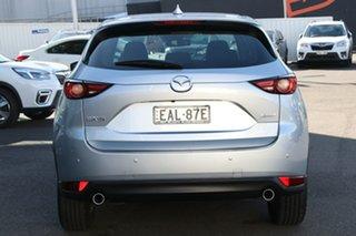 2019 Mazda CX-5 KF2W7A Maxx SKYACTIV-Drive FWD Sport Silver 6 Speed Sports Automatic Wagon
