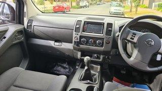 2013 Nissan Navara D40 MY13 RX (4x4) Black 6 Speed Manual Dual Cab Chassis