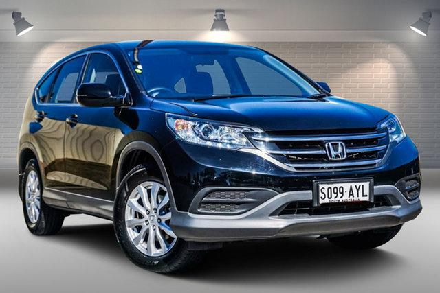 Used Honda CR-V RM MY14 VTi-S 4WD Gepps Cross, 2013 Honda CR-V RM MY14 VTi-S 4WD Black 5 Speed Sports Automatic Wagon