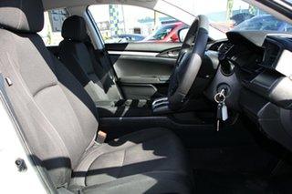 2016 Honda Civic 10th Gen MY16 VTi White Orchid 1 Speed Constant Variable Sedan