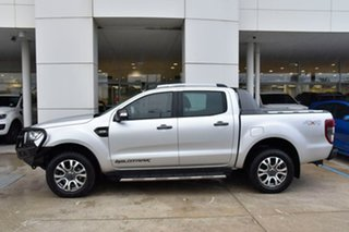 2018 Ford Ranger PX MkII 2018.00MY Wildtrak Double Cab Silver 6 Speed Sports Automatic Utility.