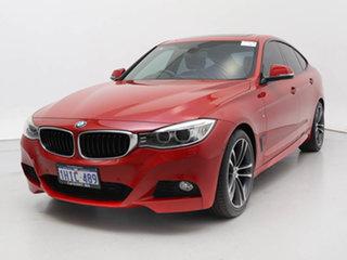 2016 BMW 328i F34 MY15 Upgrade Gran Turismo (Sport) Red 8 Speed Automatic Hatchback.