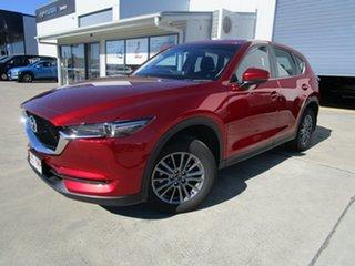 2018 Mazda CX-5 KF2W7A Maxx SKYACTIV-Drive FWD Sport Red 6 Speed Sports Automatic Wagon.