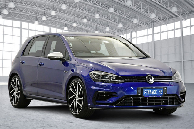 Used Volkswagen Golf 7.5 MY18 R DSG 4MOTION Victoria Park, 2018 Volkswagen Golf 7.5 MY18 R DSG 4MOTION Lapiz Blue 7 Speed Sports Automatic Dual Clutch