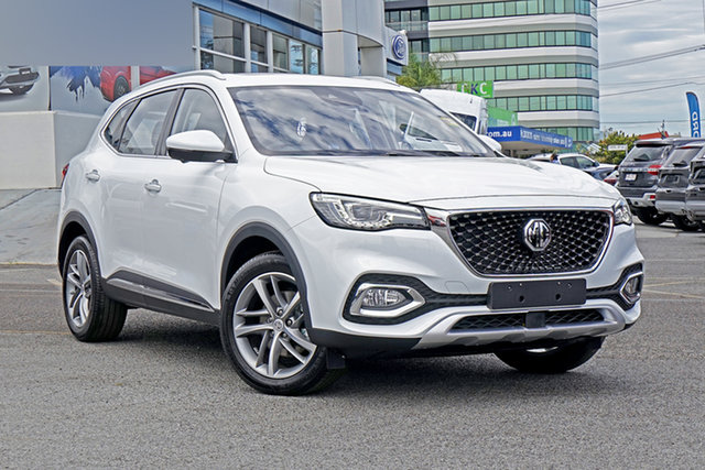 New MG HS SAS23 MY20 Essence DCT FWD Anfield Edition Springwood, 2020 MG HS SAS23 MY20 Essence DCT FWD Anfield Edition White 7 Speed Sports Automatic Dual Clutch