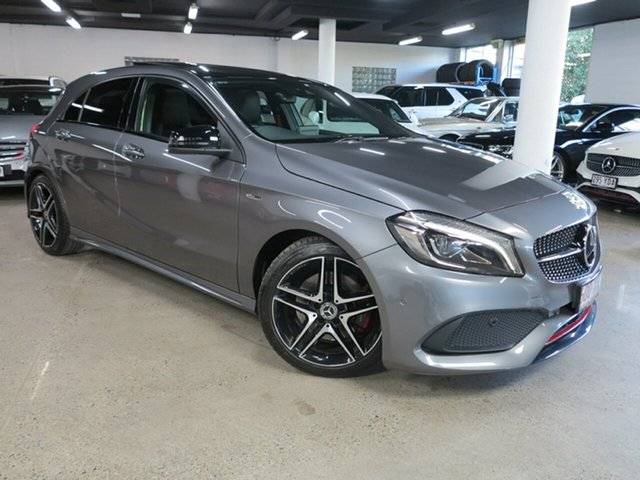 Used Mercedes-Benz A-Class W176 807MY A250 D-CT 4MATIC Sport Albion, 2017 Mercedes-Benz A-Class W176 807MY A250 D-CT 4MATIC Sport Grey 7 Speed