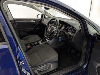 2018 Volkswagen Golf 7.5 MY18 110TSI DSG Comfortline Blue 7 Speed Sports Automatic Dual Clutch