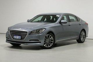 2015 Hyundai Genesis DH Grey 8 Speed Automatic Sedan.