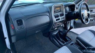 2012 Nissan Navara D22 Series 5 ST-R (4x4) White 5 Speed Manual Dual Cab Pick-up