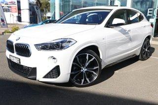 2018 BMW X2 F39 MY19 sDrive18i M Sport Alpine White 7 Speed Auto Dual Clutch Wagon.
