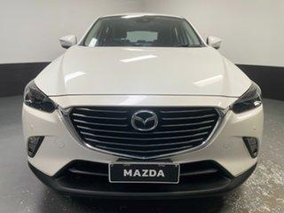2017 Mazda CX-3 DK2W76 Akari SKYACTIV-MT White 6 Speed Manual Wagon.