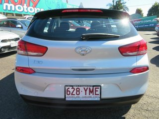 2018 Hyundai i30 PD2 MY19 Active Silver 6 Speed Sports Automatic Hatchback
