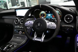 2019 Mercedes-Benz C-Class C205 809MY C63 AMG SPEEDSHIFT MCT S White 9 Speed Sports Automatic Coupe