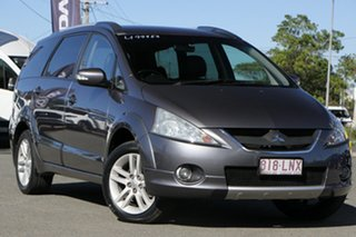 2009 Mitsubishi Grandis BA MY09 VR-X Effect Grey Pearl/leather 4 Speed Sports Automatic Wagon.