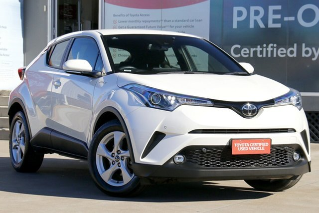 Pre-Owned Toyota C-HR NGX10R S-CVT 2WD Guildford, 2019 Toyota C-HR NGX10R S-CVT 2WD Crystal Pearl 7 Speed Constant Variable Wagon