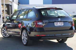 2018 Skoda Octavia NE MY19 110TSI Black Pearl 6 Speed Manual Wagon.
