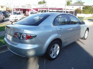 2006 Mazda 6 GG SERIES II Classic Silver 5 Speed Automatic Hatchback.