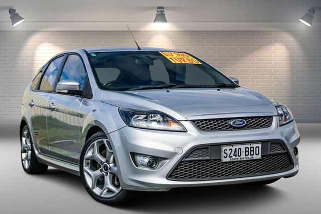 Used Ford Focus LV XR5 Turbo Gepps Cross, 2009 Ford Focus LV XR5 Turbo Silver 6 Speed Manual Hatchback