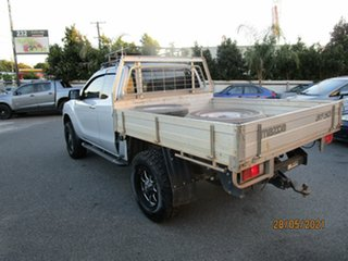 2014 Mazda BT-50 MY13 XT Hi-Rider (4x2) Silver 6 Speed Manual Freestyle Cab Chassis