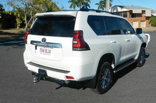 2019 Toyota Landcruiser Prado GDJ150R VX Pearl White 6 Speed Sports Automatic Wagon.