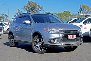2018 Mitsubishi ASX XC MY18 LS 2WD Silver 1 Speed Constant Variable Wagon.
