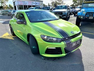 2012 Volkswagen Scirocco 1S MY13 R Coupe Green 6 Speed Manual Hatchback.