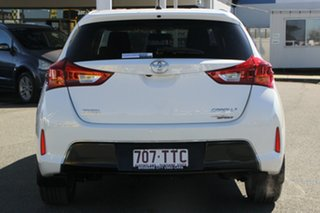 2014 Toyota Corolla ZRE182R Ascent Sport S-CVT Glacier White 7 Speed Constant Variable Hatchback