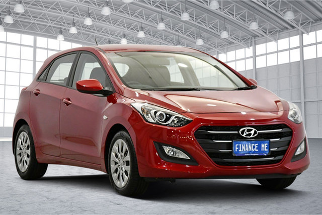 Used Hyundai i30 GD4 Series II MY17 Active Victoria Park, 2017 Hyundai i30 GD4 Series II MY17 Active Red 6 Speed Sports Automatic Hatchback