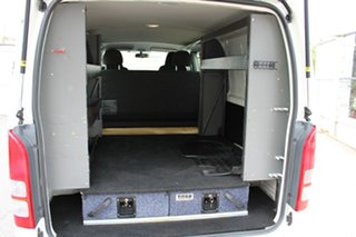 2017 Toyota HiAce KDH201R Crewvan LWB White 4 Speed Automatic Van Wagon
