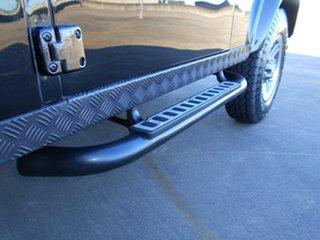 2010 Land Rover Defender 90 10MY Black 6 Speed Manual Wagon