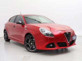 2015 Alfa Romeo Giulietta MY15 Quadrifoglio Verde Red 6 Speed Auto Dual Clutch Hatchback.