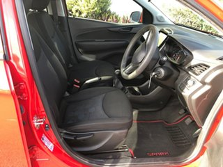 2016 Holden Barina TM MY17 LS Absolute Red 5 Speed Manual Hatchback