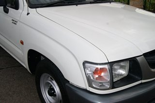 2002 Toyota Hilux RZN149R White 5 Speed Manual Pickup.