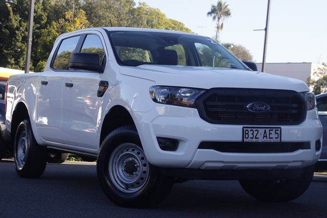 Used Ford Ranger PX MkIII 2020.75MY XL Newstead, 2020 Ford Ranger PX MkIII 2020.75MY XL White 6 Speed Sports Automatic Double Cab Chassis