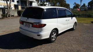 2002 Toyota Tarago ACR30R GLi White 4 Speed Automatic Wagon.