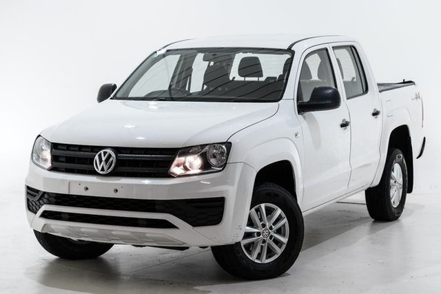 Used Volkswagen Amarok 2H MY17 TDI420 4MOTION Perm Core Berwick, 2017 Volkswagen Amarok 2H MY17 TDI420 4MOTION Perm Core White 8 Speed Automatic Utility