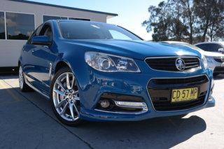 2013 Holden Commodore VF MY14 SS V Redline Blue 6 Speed Sports Automatic Sedan.