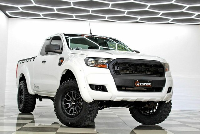 Used Ford Ranger PX MkII XL 2.2 Hi-Rider (4x2) Burleigh Heads, 2015 Ford Ranger PX MkII XL 2.2 Hi-Rider (4x2) White 6 Speed Automatic Super Cab Chassis