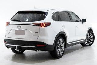 2019 Mazda CX-9 TC Azami SKYACTIV-Drive i-ACTIV AWD White 6 Speed Sports Automatic Wagon.