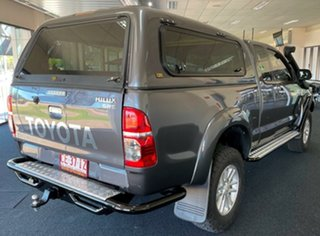 2014 Toyota Hilux KUN26R MY14 SR5 Xtra Cab Charcoal 5 Speed Manual Utility.