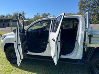 2020 Toyota Hilux GUN136R SR Double Cab 4x2 Hi-Rider Glacier White 6 Speed Sports Automatic Utility