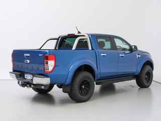 2020 Ford Ranger PX MkIII MY21.25 XLT 3.2 (4x4) Blue 6 Speed Automatic Double Cab Chassis