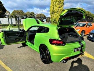 2012 Volkswagen Scirocco 1S MY13 R Coupe Green 6 Speed Manual Hatchback