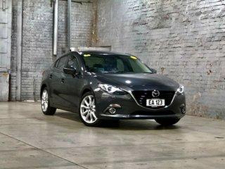 2014 Mazda 3 BM5238 SP25 SKYACTIV-Drive GT Silver 6 Speed Sports Automatic Sedan.