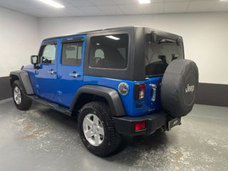 2013 Jeep Wrangler JK MY2014 Unlimited Sport Blue 5 Speed Automatic Softtop