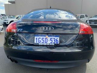 2009 Audi TT 8J MY10 S Tronic Black 6 Speed Sports Automatic Dual Clutch Coupe.
