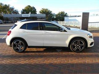 2016 Mercedes-Benz GLA-Class X156 807MY GLA250 DCT 4MATIC White 7 Speed Sports Automatic Dual Clutch.